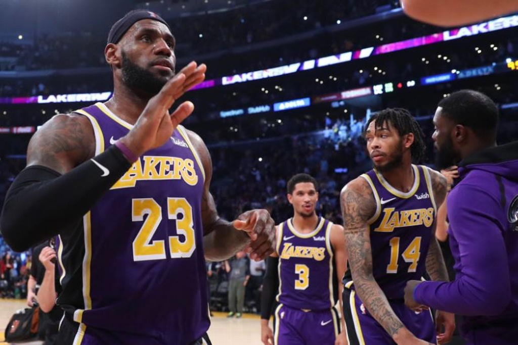NBA: ¡Ganaron los Lakers!