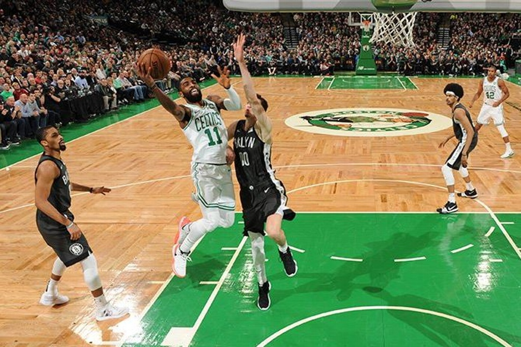 NBA: Celtics vence a los Nets en regreso de Irving