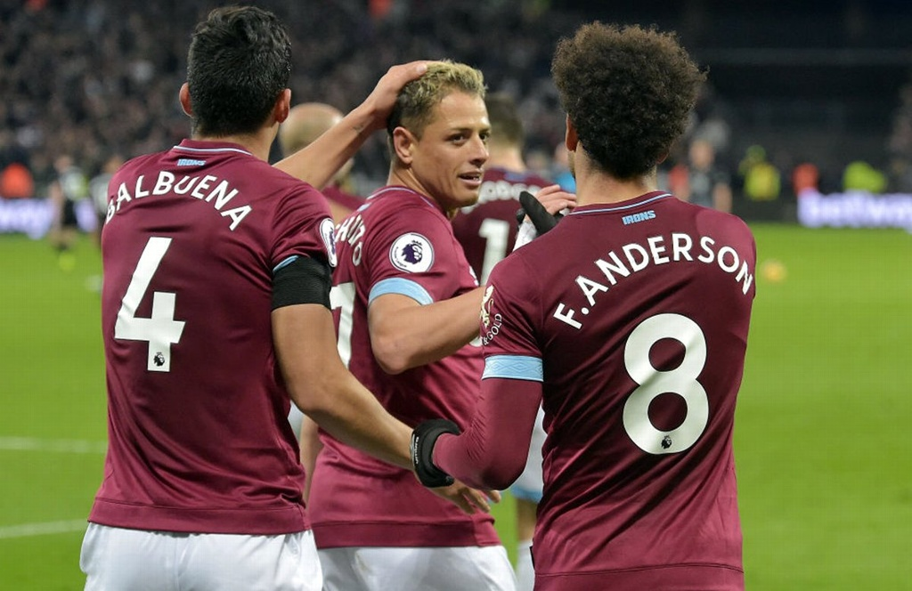 'Chicharito' y West Ham reciben al Arsenal en Premier League
