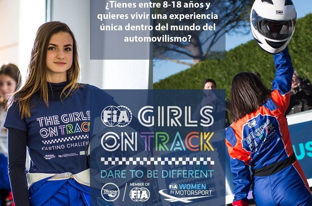 'Girls on Track', proyecto que busca acercar a mujeres al automovilismo