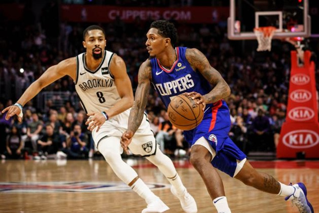 NBA: Clippers tunden a los Nets