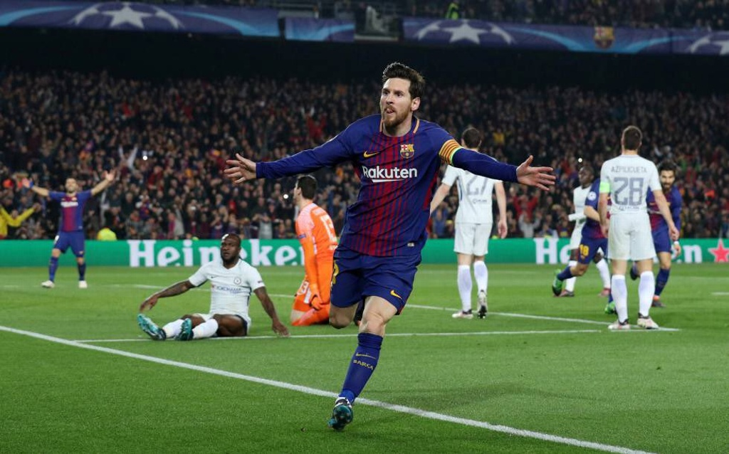 ¡De otra galaxia! Messi anota su gol 600 con el Barcelona, un golazo (VIDEO)