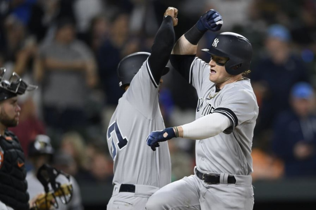 MLB: Yankees tunden a los Orioles