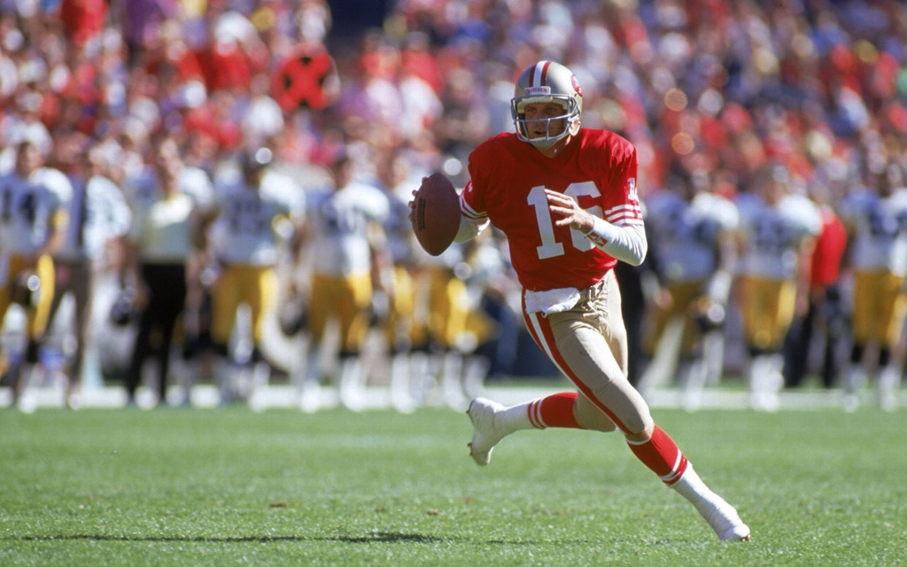 ¡Felices 63 años Joe Montana!