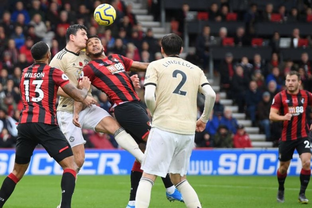 Manchester United cayó ante el Bournemouth