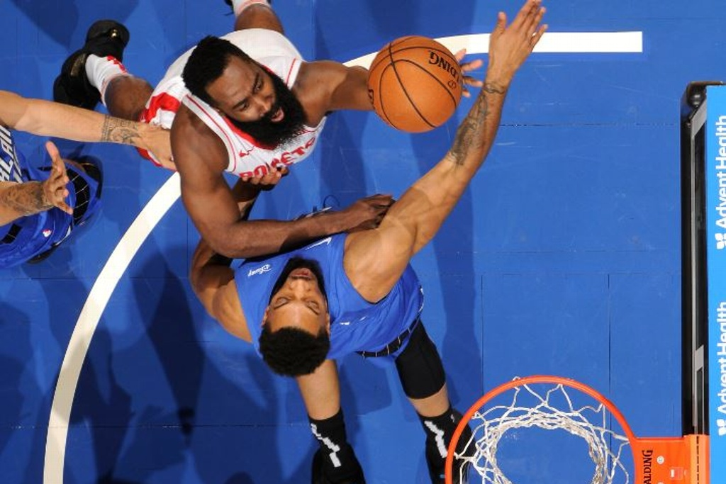NBA: Rockets destrozan al Magic