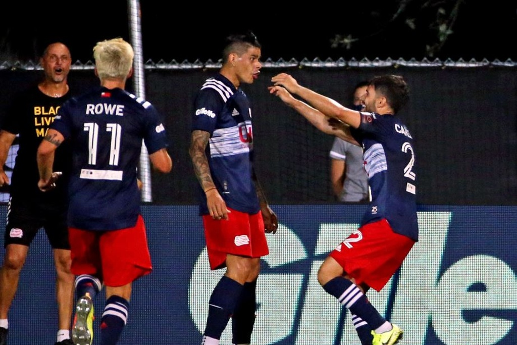 New England vence al Impact en la MLS is Back