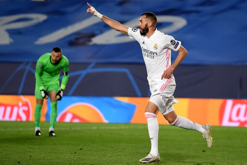 Real Madrid gana sufriendo al Inter en Champions League
