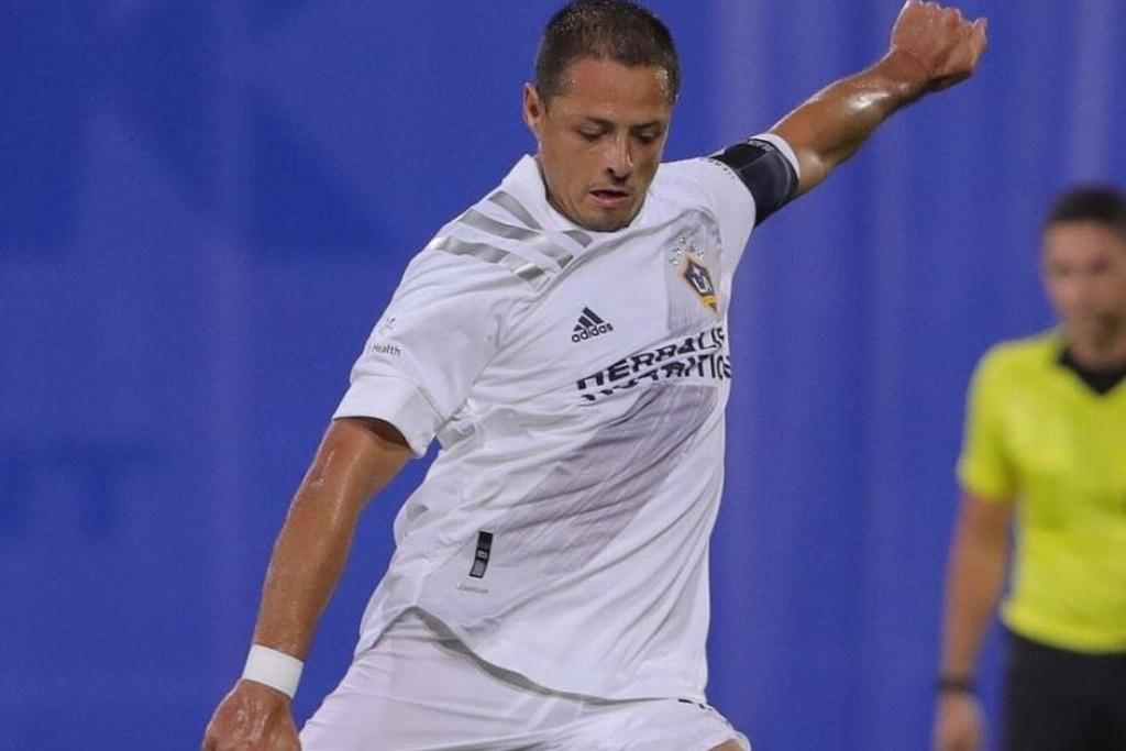 'Chicharito' vuelve a anotar (VIDEO)