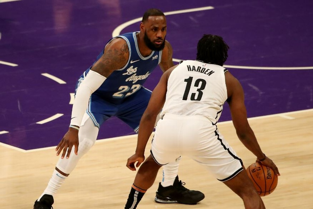 NBA: Lakers cayeron ante los Nets