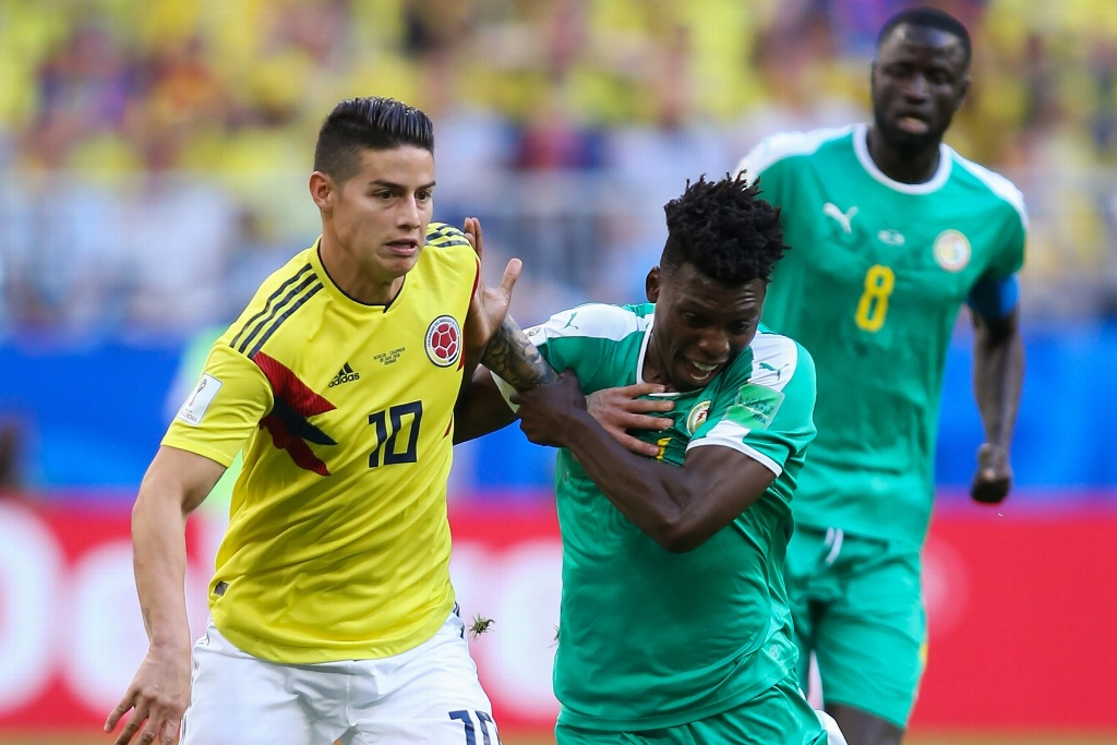 James Rodríguez dentro de la convocatoria colombiana