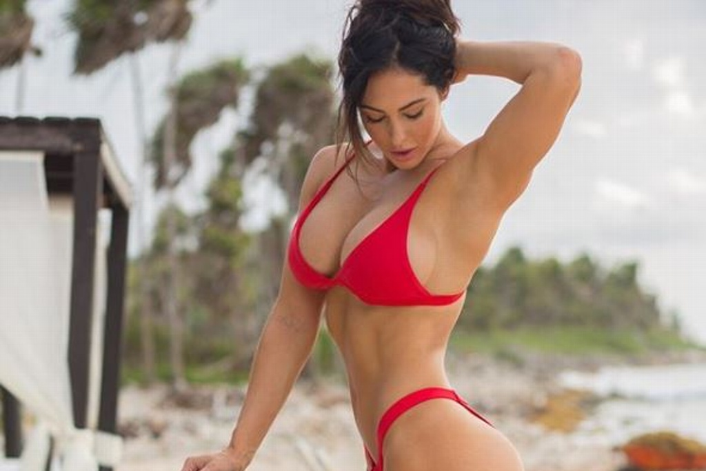 Amarás el fitness con Hope Beel (FOTOS)