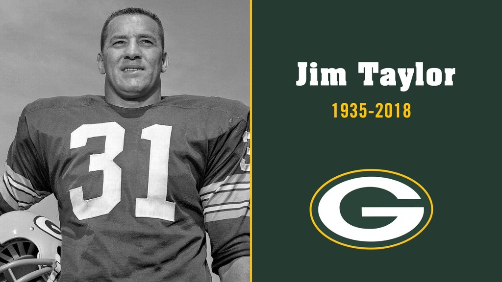 Fallece Jim Taylor, leyenda de Empacadores de Green Bay