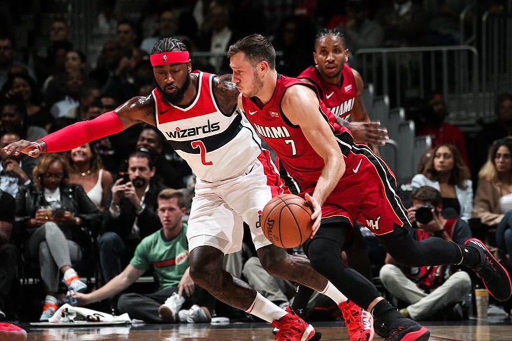 NBA: Heat domina a los Wizards
