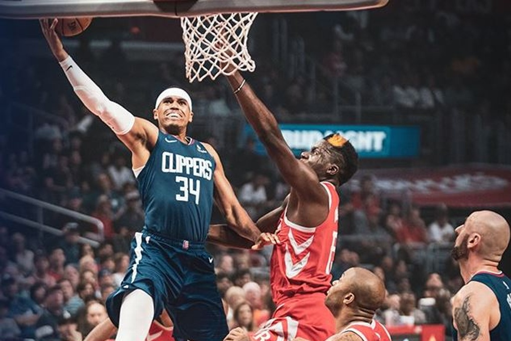NBA: Clippers tunden a los Rockets