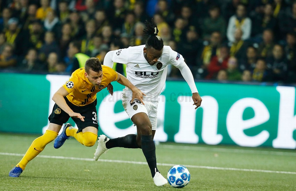 Young Boys y Valencia dividen en Champions League