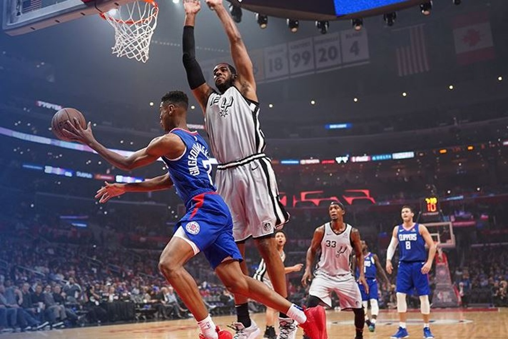 NBA: Clippers tunden a los Spurs