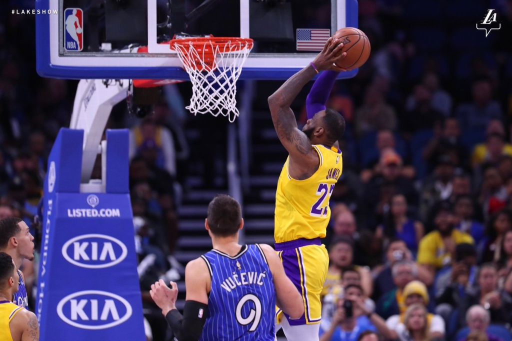 NBA: Lakers cae ante Magic