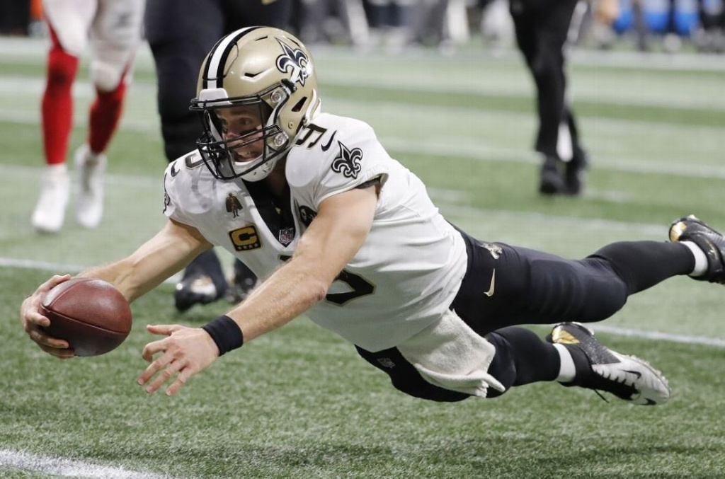 NFL: Brees, a pulverizar más récords