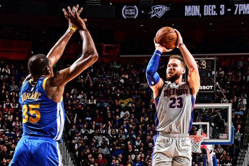 NBA: Pistons gana a Warriors