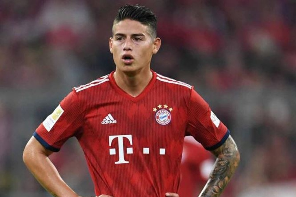 James no descarta salir del Bayern