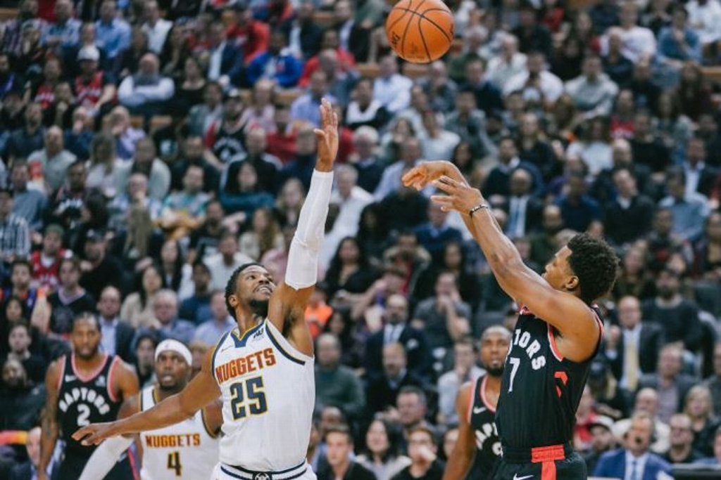 NBA: Nuggets vence a los Raptors