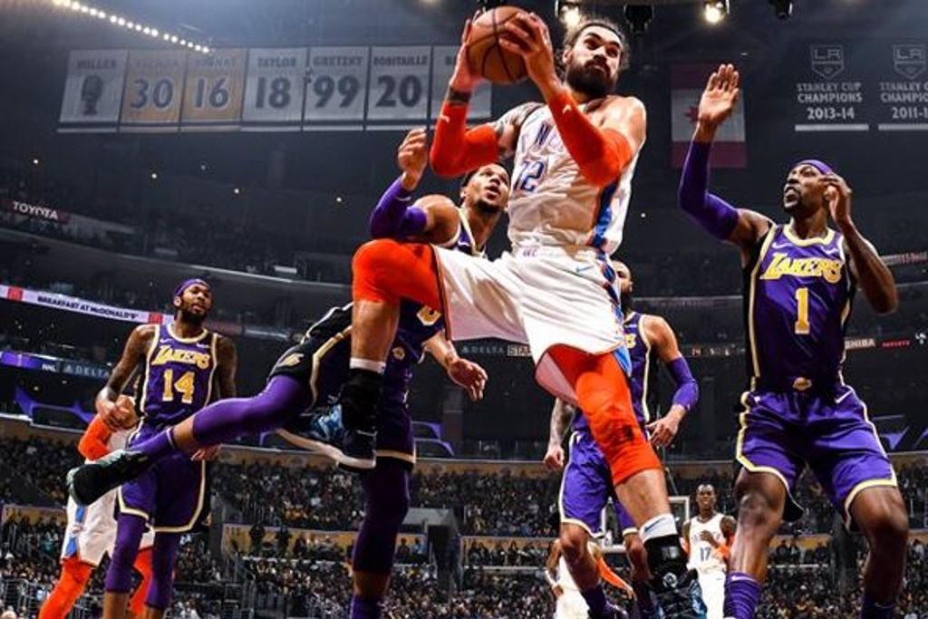 NBA: Lakers cayeron ante el Thunder