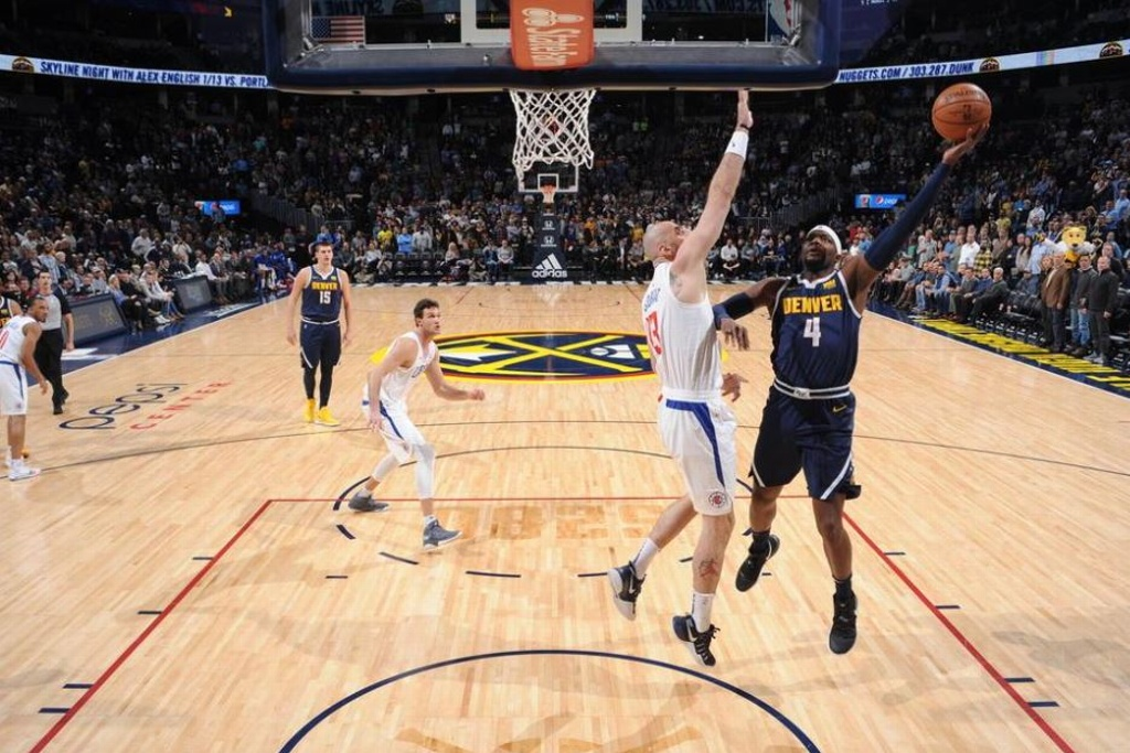 NBA: Nuggets sorprende y vence a los Clippers