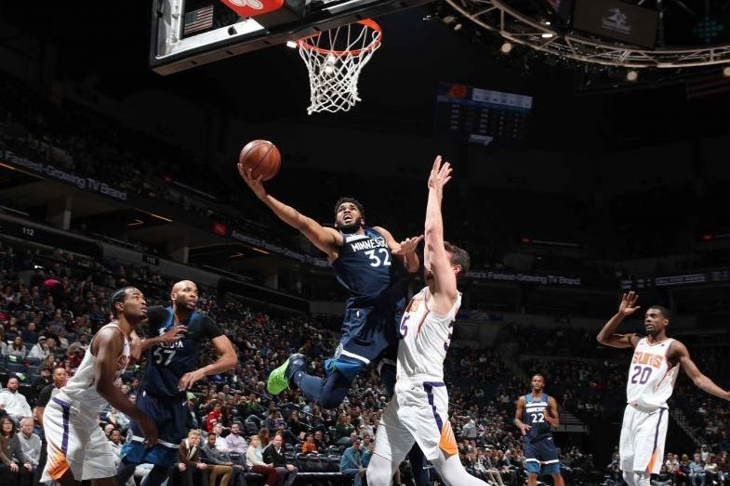 NBA: Timberwolves superan a los Suns