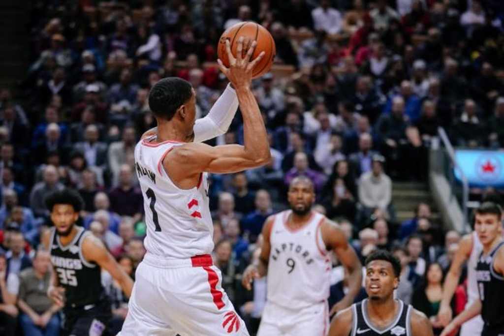 NBA: Raptors superan a los Kings