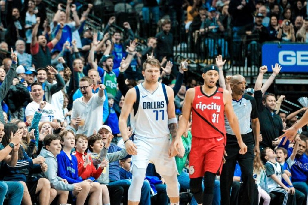 NBA: Mavs superan a los Blazers