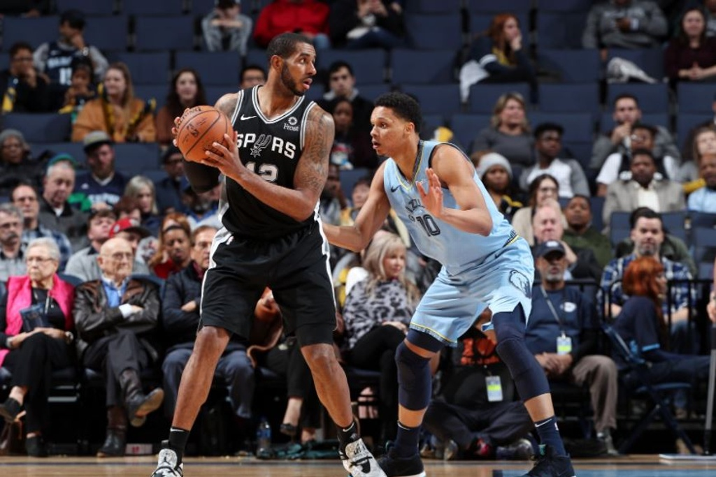 NBA: Spurs vencen a los Grizzlies