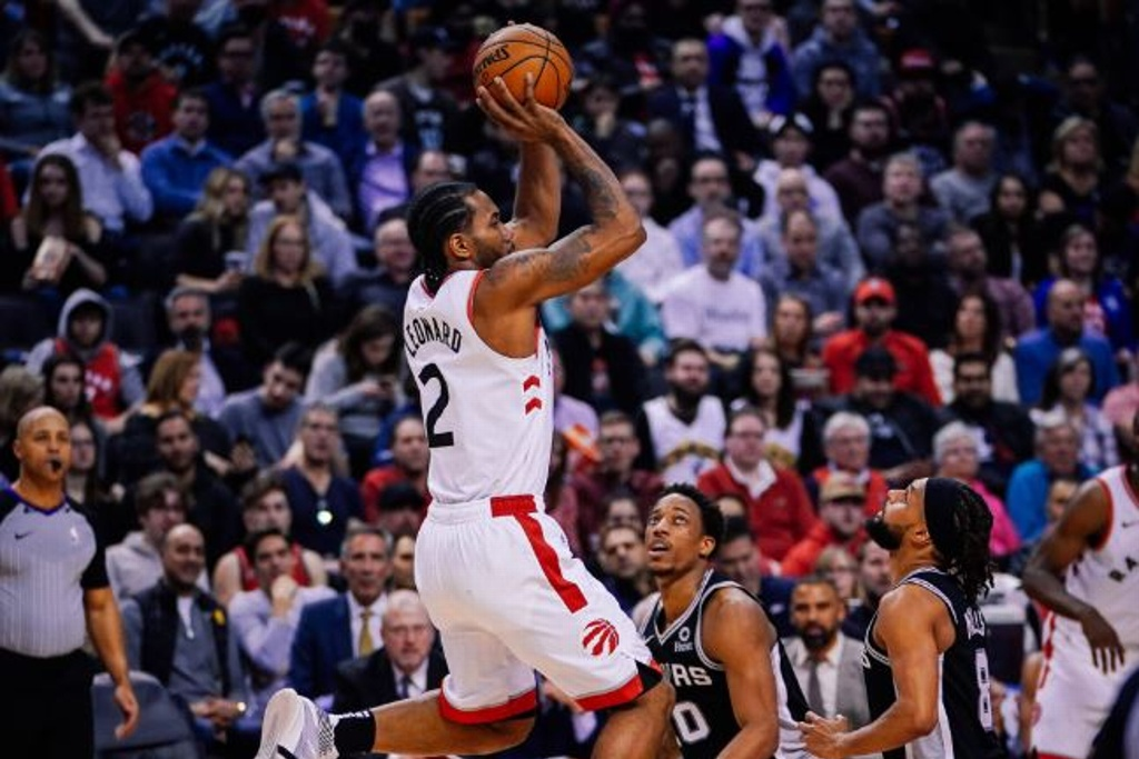 NBA: Raptors vence a los Spurs