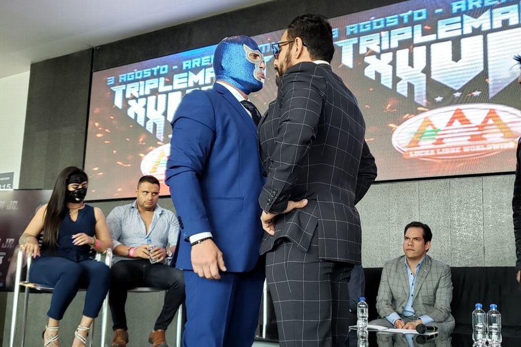 ¡Mascara vs Cabellera! Blue Demon Jr vs Doctor Wagner