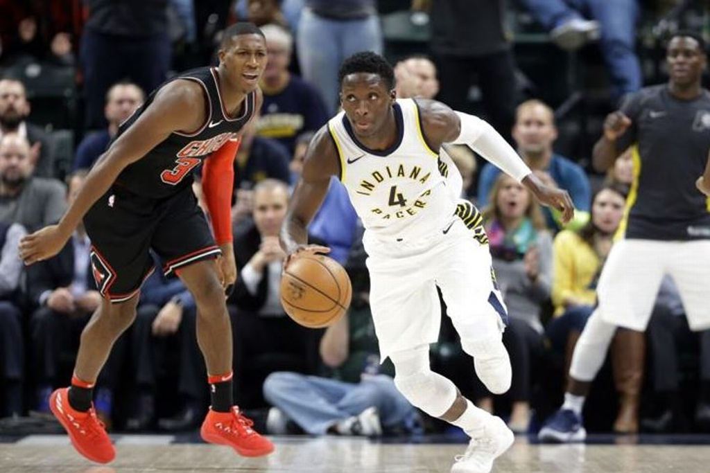 NBA: Pacers superan a los Bulls