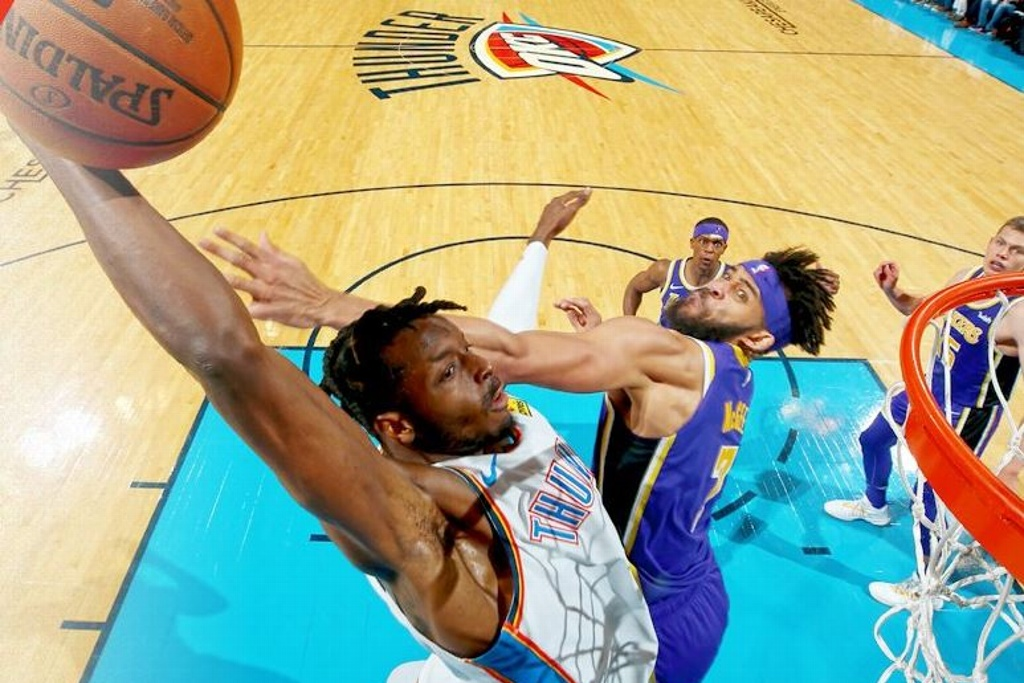 NBA: Thunder aplasta a los Lakers
