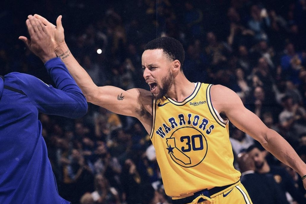 NBA: Warriors vencen a los Nuggets y son primeros del Este