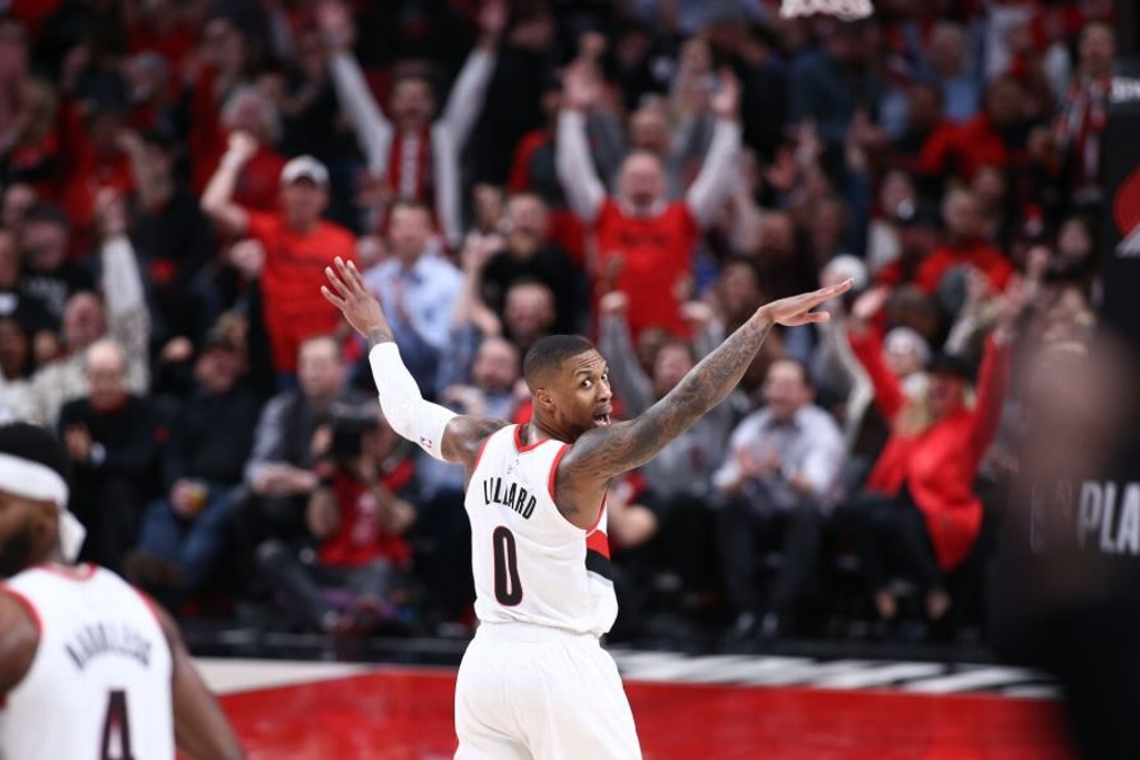 NBA Playoffs: Blazers vencen al Thunder
