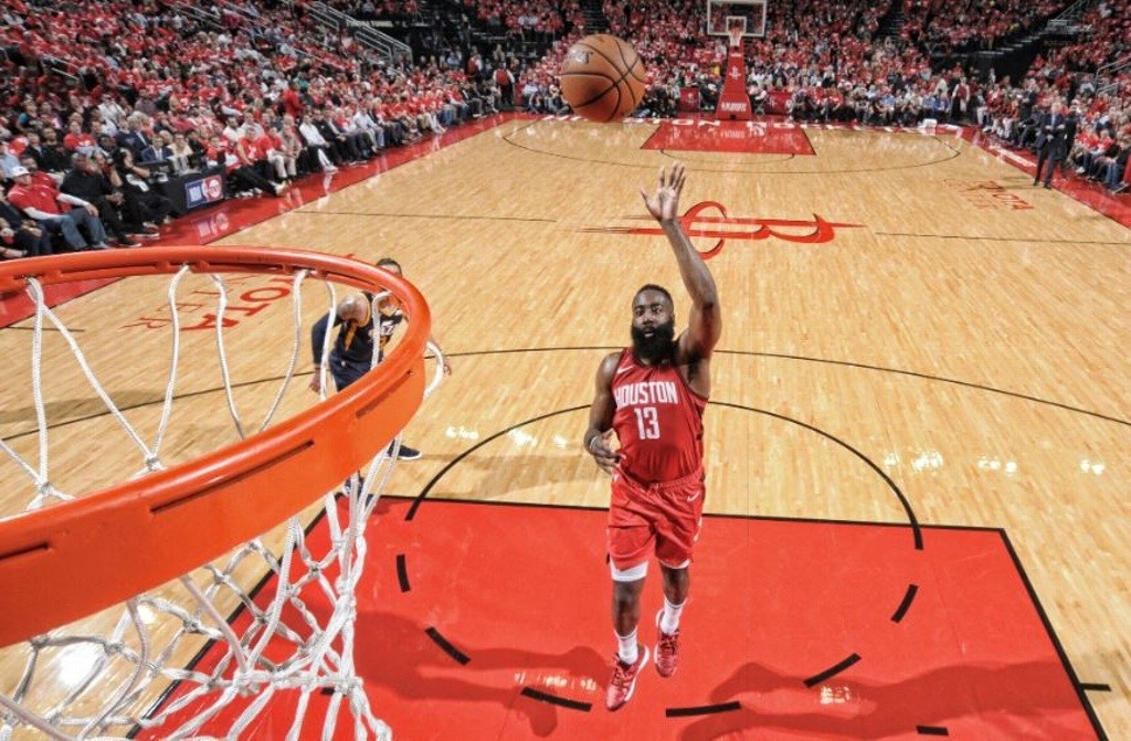 NBA Playoffs: Paliza de Rockets en triunfo sobre Jazz