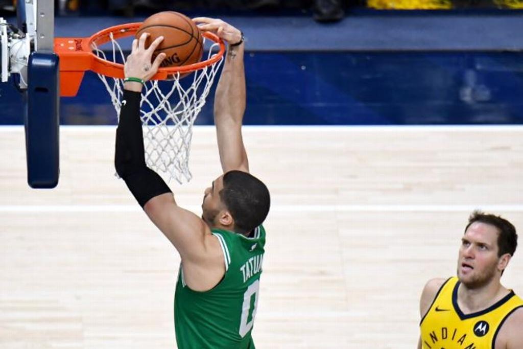 NBA Playoffs: Celtics a uno de barrer a los Pacers