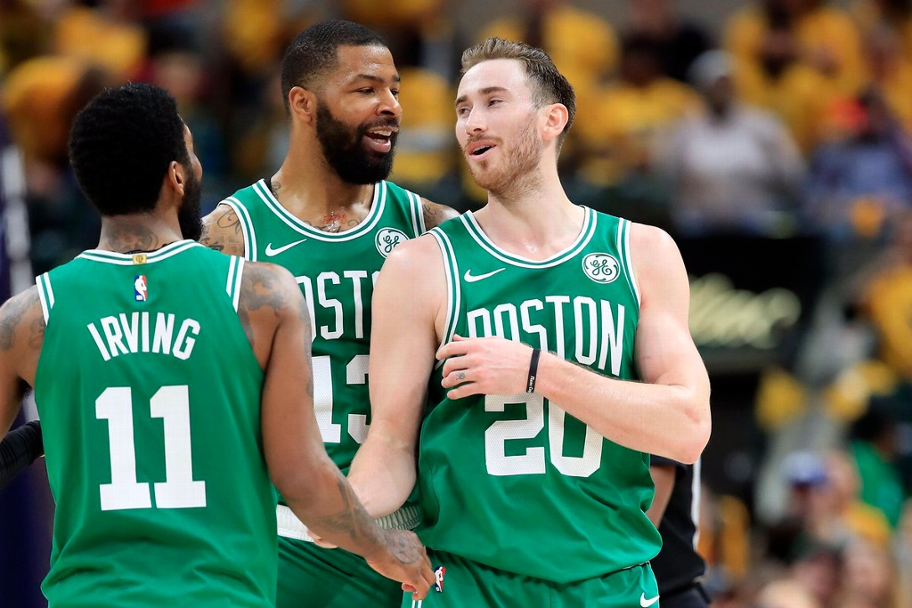 Boston avanza a semifinal de conferencia en la NBA, tras barrer a Pacers