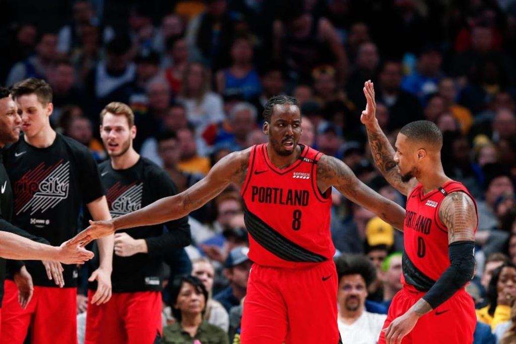 NBA Playoffs: Blazers igualan serie ante los Nuggets