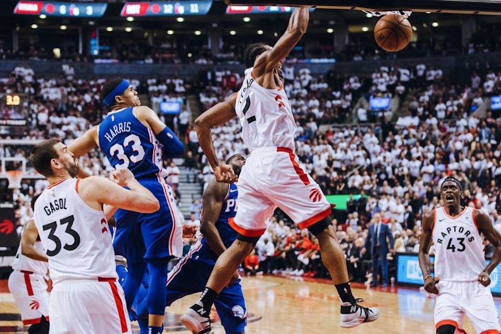 NBA Playoffs: Raptors arrollan a los 76ers