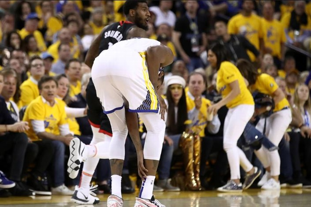 NBA: Durant sigue en duda para finales con los Warriors
