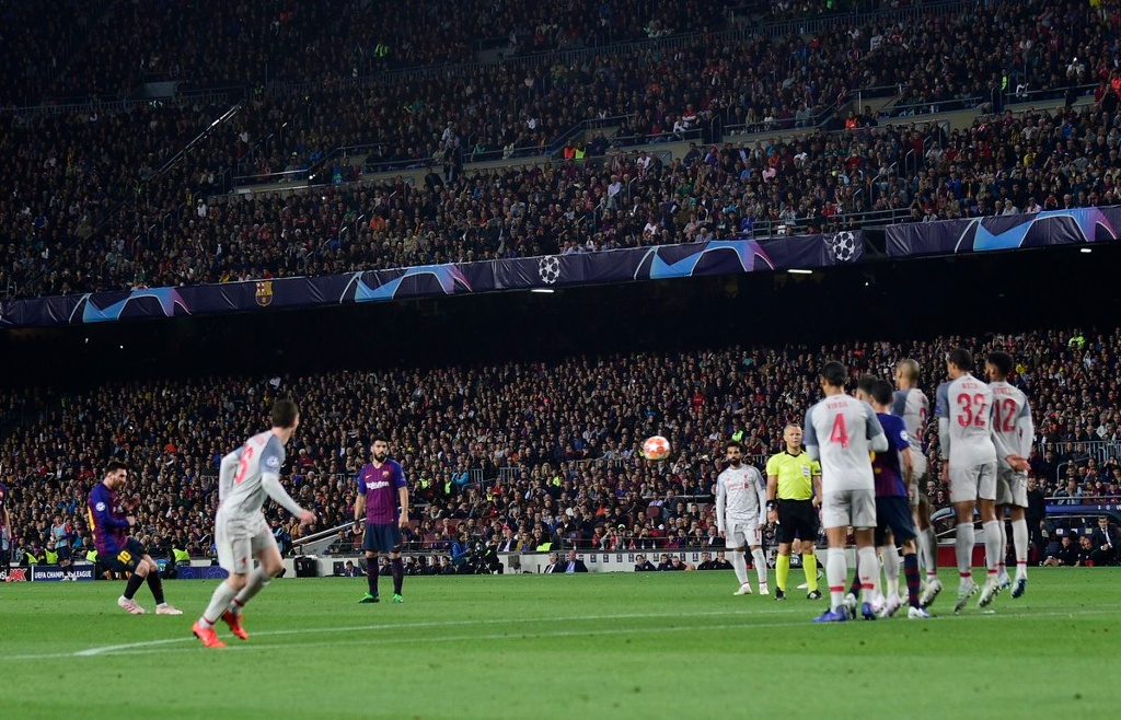 Pincelada de Messi como mejor gol en la Champions (VIDEO)