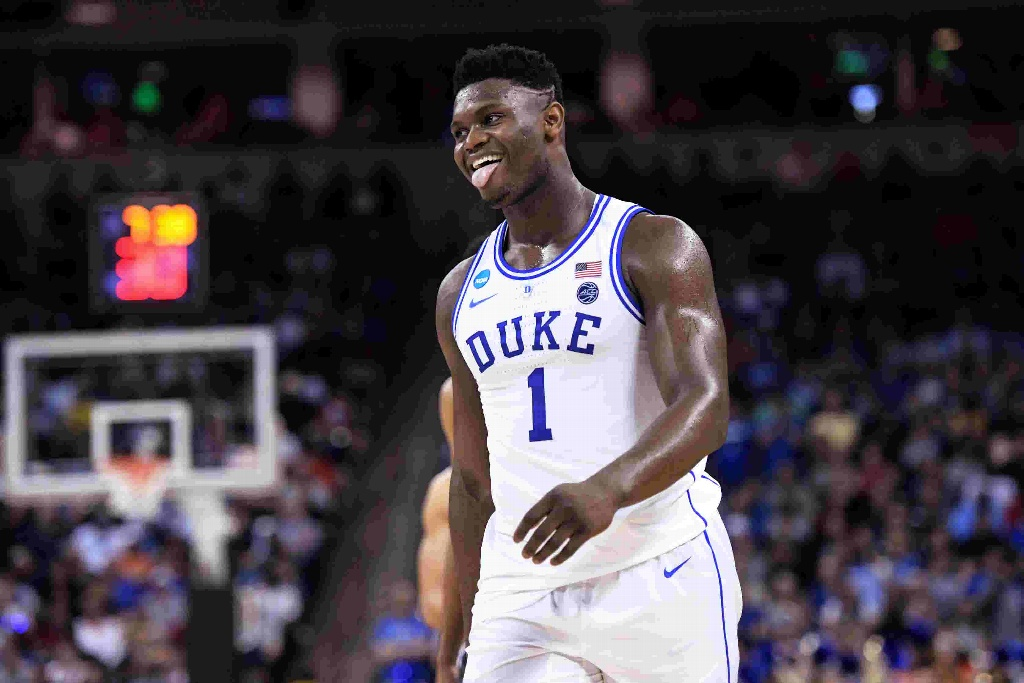 ¡Fenómeno Zion Williamson, número uno del Draft NBA!