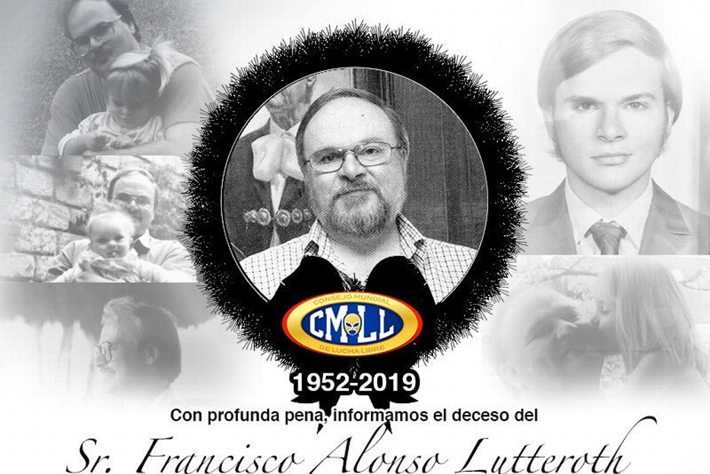 Fallece presidente del CMLL Francisco Alonso Lutteroth