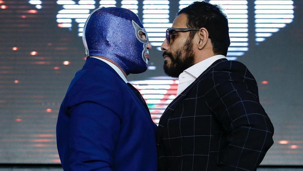 Doctor Wagner Jr vence a Blue Demon Jr rumbo a Triplemanía
