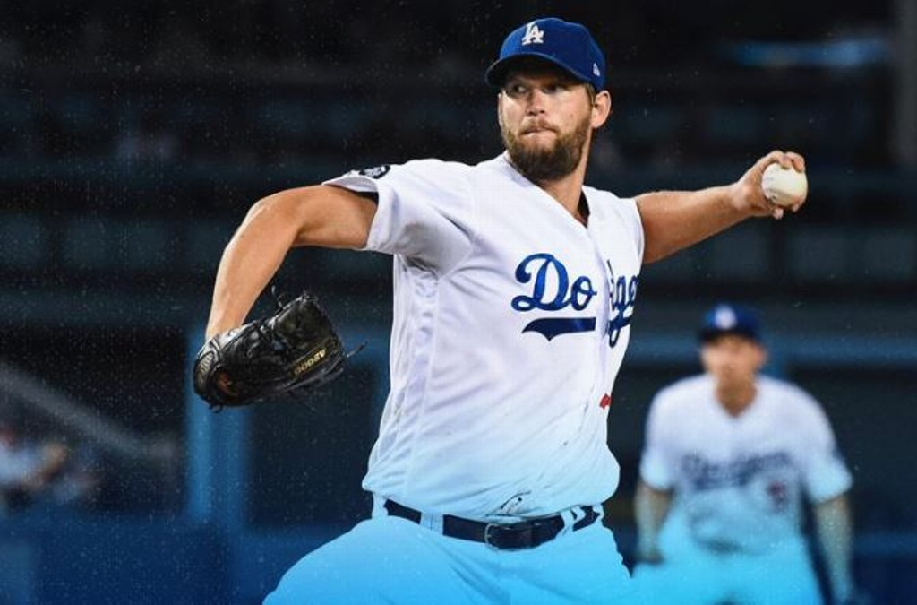 MLB: Kershaw brillante, los Dodgers ganan