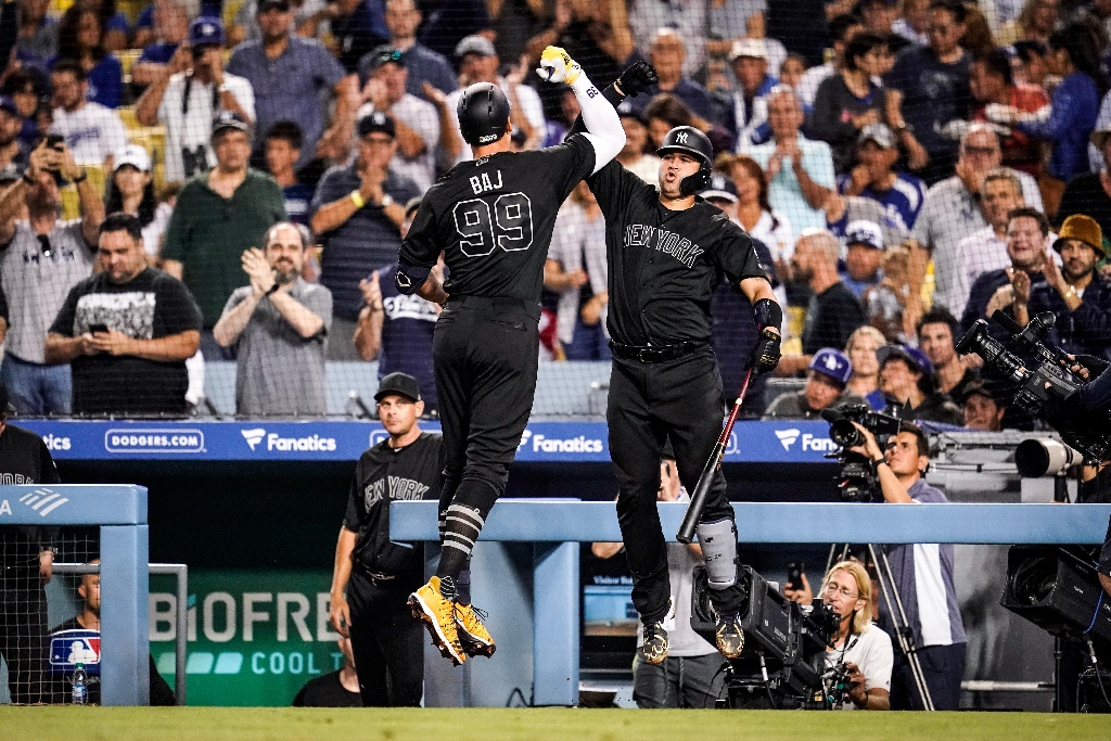 MLB: Yankees despedazan a los Dodgers